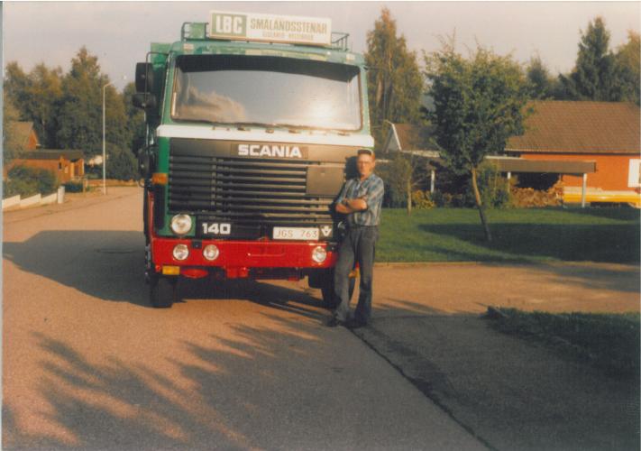 Parkerad hemma, historik Granströms åkeri